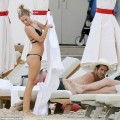 Spencer Matthews Admires The View As His Former MIC co-star Kimberley Garner