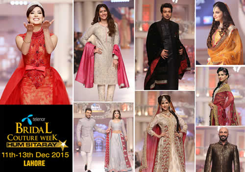 Telenor Bridal Couture Week 2015 Announce Dates
