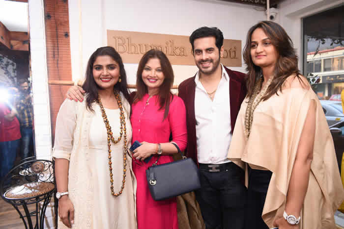 Designer Duo Bhumika & Jyoti Bring Unveiled Their Spring Collection on Valentine's day