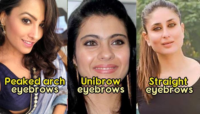 12 Different Types Of Eyebrow Shapes And What Your Eyebrows