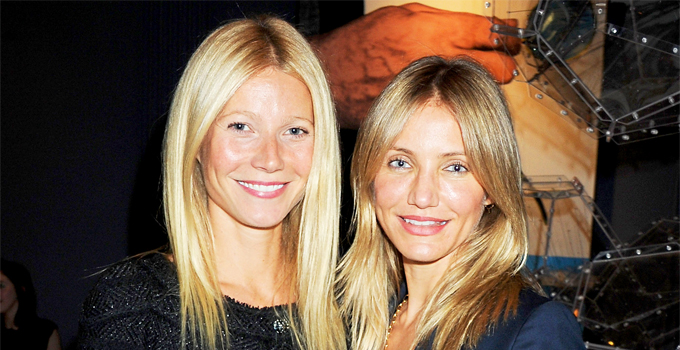 Cameron Diaz Planning Holiday for Gwyneth Paltrow